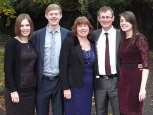 Steve, Chris & family
